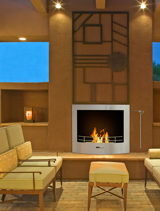 vfr210bco in outdoor entertainment room